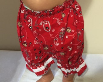 OSU Baby Bloomer Shorts
