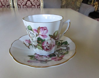 ENGLAND ROYAL DOVER Teacup and Saucer