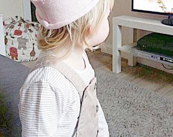 Pink Woolly Crown Hat