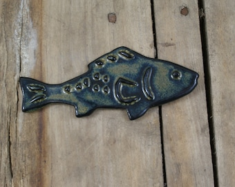 Fish Pottery Fridge Magnet