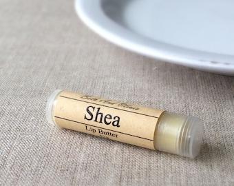Unscented lip balm, Shea butter lip balm, natural lip balm, shea lip balm, unscented lip butter, Shea butter, lip balm favors, party favors