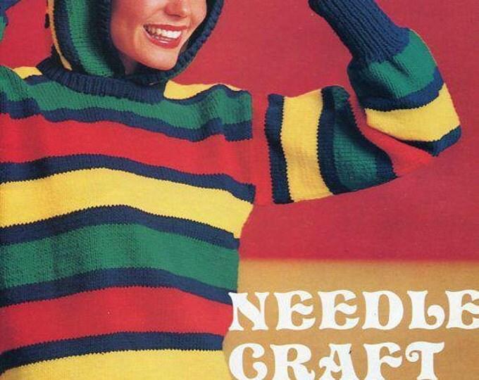 FREE US SHIP Vintage Retro 1970s 70s Needlecraft Price Catalog Booklet Like New!