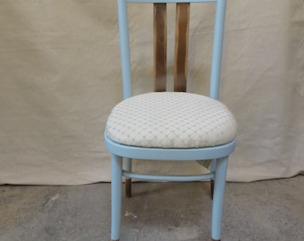 Upcycled Wooden Dining Chair in Duck Egg Blue, Set of 2, Set of 4 or Set of 8