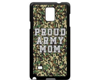 Proud Army Mom for Samsung Galaxy Note 3 / Note 4 / Note 5 Phone Case