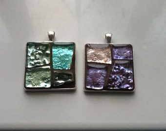 Mosaic pendants/necklaces