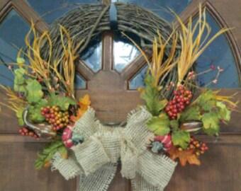 "Thanksgiving 14"" Wreath"