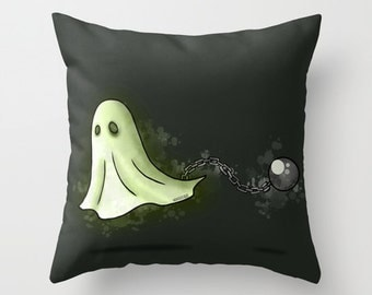 Ghost Pillow / Halloween Pillow / Halloween Pillow
