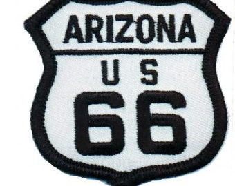 Arizona Route 66 Patch (Iron on)