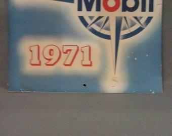 Mobil Oil Calendar 1971