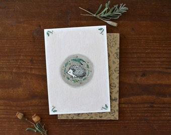 Little hedgehog - Card