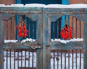 Ristras in Winter