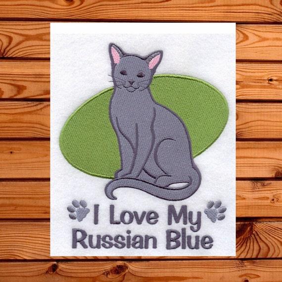 Love My Russian Blue Cat 49