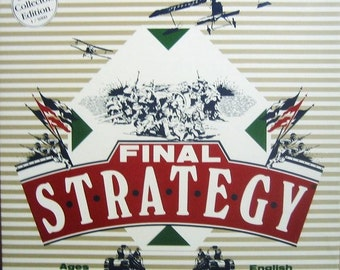 Final Strategy vintage (c. 1983) limited-edition of 5,000 copies published by boutique Canadian company Headgames.  MINT!