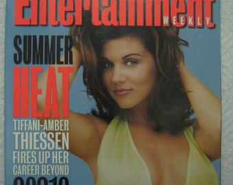 ENTERTAINMENT  WEEKLY - July 28 , 1995 Tiffani-Amber Thiessen Hootie and the Blowfish