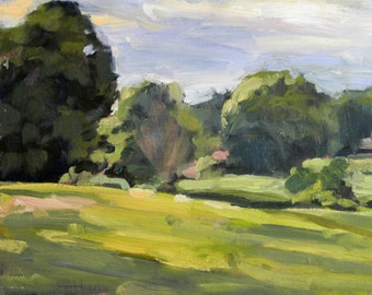 Losing Light Plein Air