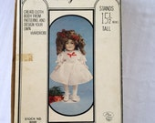 Vintage Hello Dolly Porcelian Shirley Doll Kit