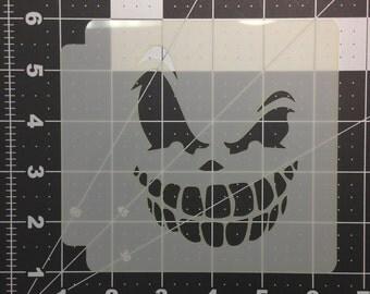 Scary Face Stencil 100