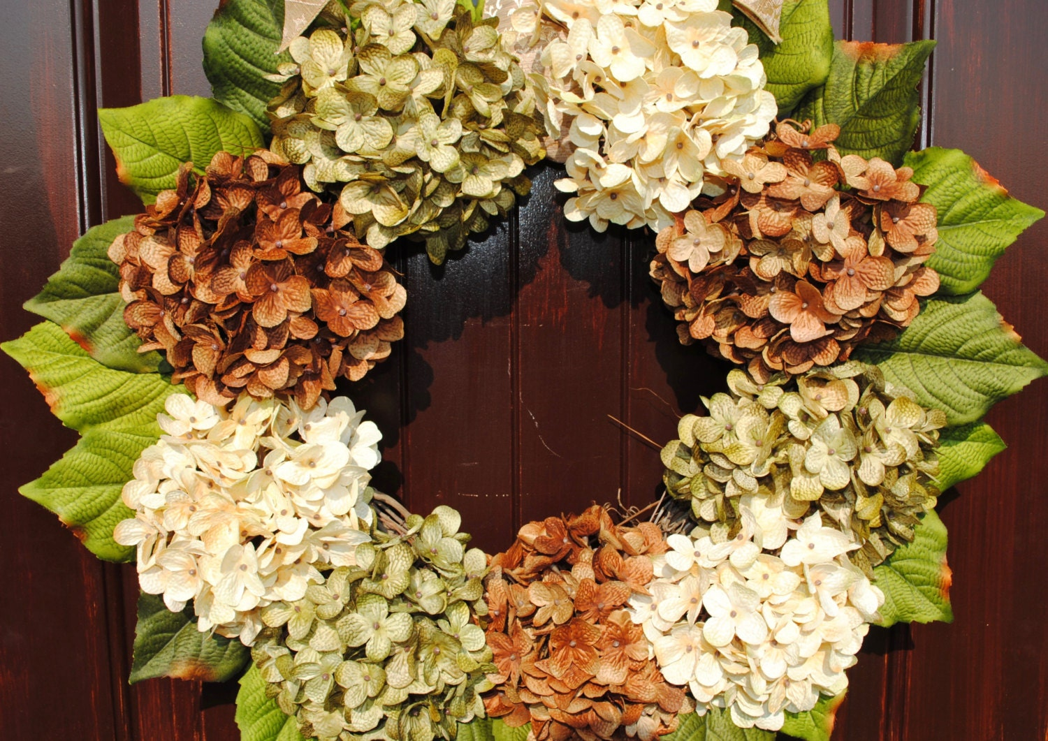 Hydrangea Wreaths For Front Door - Home Design Ideas and Pictures