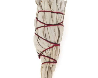 California White Sage Mini Torch Style Smudge Stick