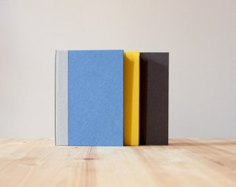 Blue and Grey Hardcover Notebook | Journal | Sketchbook