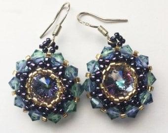 Provence Lavender Sun earrings