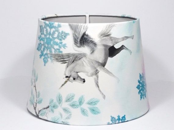 Unicorn Lampshade Ceiling Light Shade Princess By