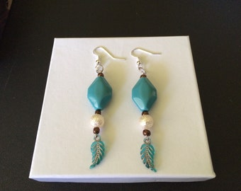 Feather Tip Earrings