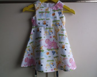 Nursery zoo dress