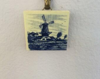 Miniature Delft Tile