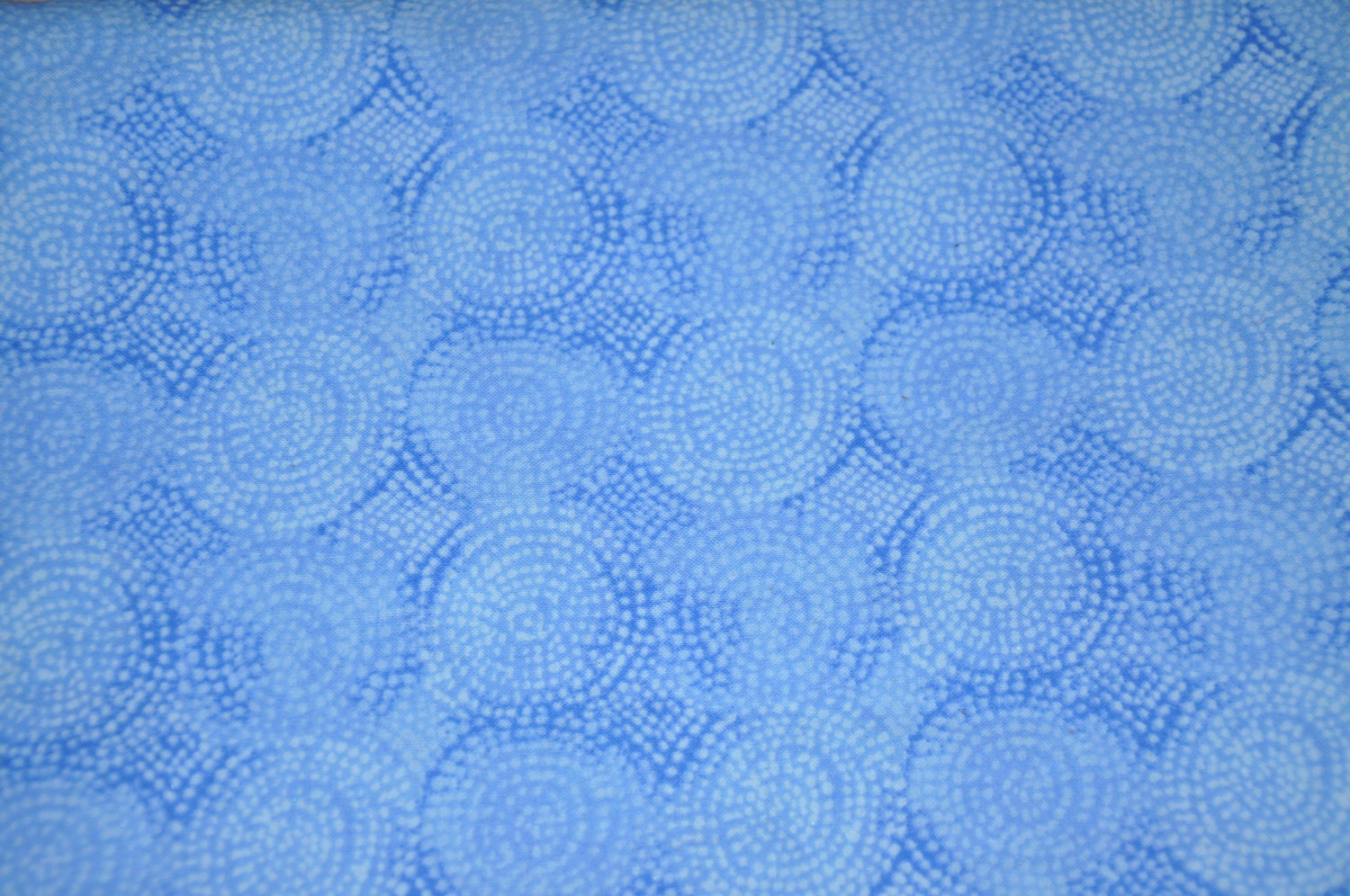 One Yard Of Blue Swirl 100 Cotton Quilt Fabric From