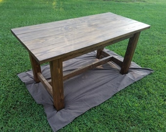 Rustic Farmhouse Table or Desk That Ships To Your Door