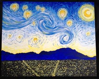 Albuquerque Starry Night