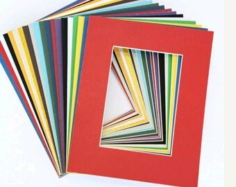 Custom Cut Mat board for Photos , Art Pieces 5X7,8X10,11X14,16X20
