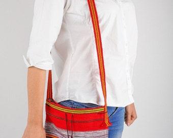 Osnaburg bag  embroided bag  handmade embroidery  ethnic bag  ethnic style  sholder bag  messenger bag  crossbody bag [SS-125]