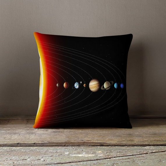 Cool Teen Gift Solar System Pillow Cool Gifts by wfrancisdesign