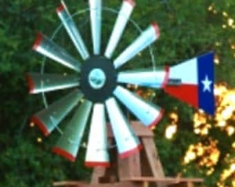 47 inch head tail kit with Texas Flag