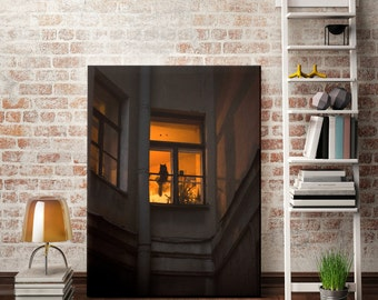 Window Photography, Cat, Download photo, Photography, Poster, Digital photography,  Printable photo, Print poster, Wall decor