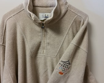 1998 Nagano Olympics Fleece Quarter-Zip Sweater