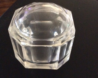 Tiffany And Co. Crystal Covered Trinket Box