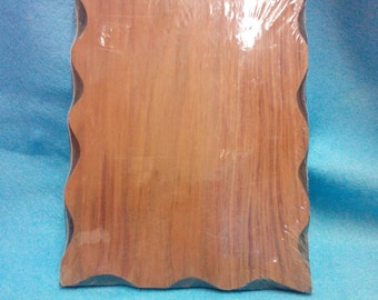 Sign Board-Vintage  7.5 x 9.5 x 1  Redwood,for wood burning, painting or decoupage.