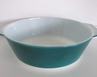 Teal Blue Pyrex Bowl