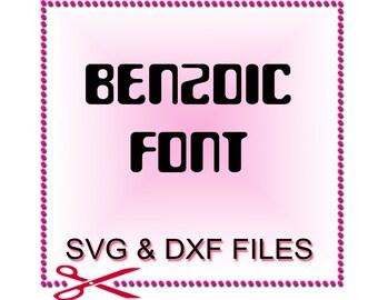 SVG Fonts for Cricut - Font Design Files For Silhouette Studio and Cricut Design Space.