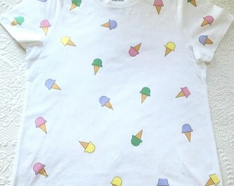 Womens Ice Cream T-Shirt