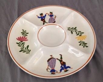 Alpine Ironstone German Party Platter