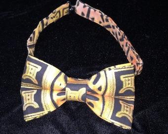 Ethnic Print Bow Tie