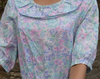 Pastel flowery dress