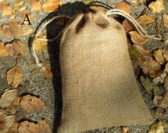 25pcs-Natural Jute Bags Hessian Hemp Drawstring Bags Pouch Wedding Favor Gift Burlap Packaging Bags Jewelry Party Recycle Bags Supplies