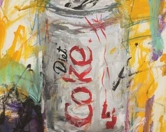 Soda Can; Diet Coke