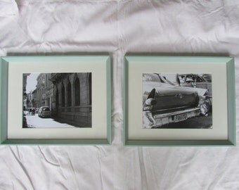 Cuba Set Framed - Original black and white photography prints from film