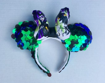 Maleficent hand painted limited edition